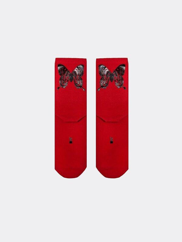 MARK FORMELLE Женские носки 115676 246F-1126 т.красный оптом от Engros