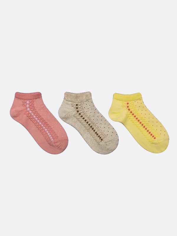 MARK FORMELLE Детские носки 118515 406A-1273 бежевый меланж-3 оптом от Engros
