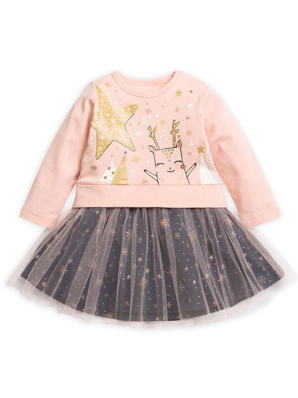 PELICAN Платье 130810 GFDJ1785 Розовый оптом от Engros