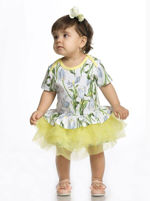 PELICAN Платье 130816 GFDT1111/1 Белый оптом от Engros