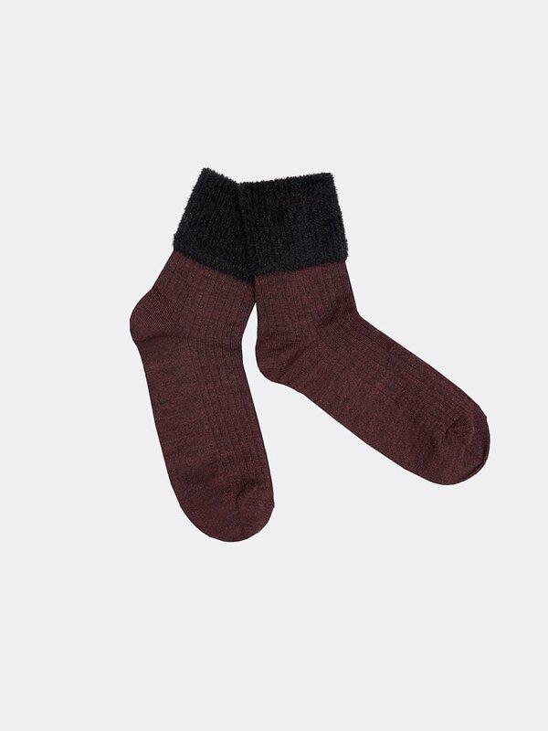 MARK FORMELLE Женские носки 137152 230K-899 винный меланж оптом от Engros