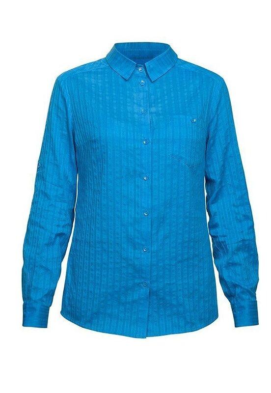 PELICAN Блузка 138597 DWJ681 Blue оптом от Engros