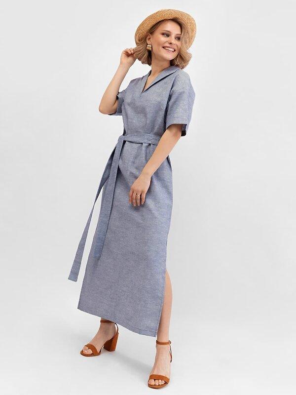 MARK FORMELLE Платье 139771 152389 джинсовый оптом от Engros
