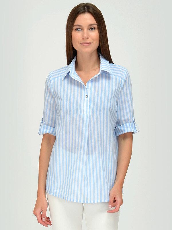 VISERDI Блузка 145191 10006-бгп 259685 голубой оптом от Engros