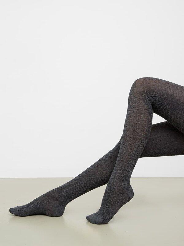 MARK FORMELLE Женские колготки 146979 900K-677 т.серый меланж оптом от Engros