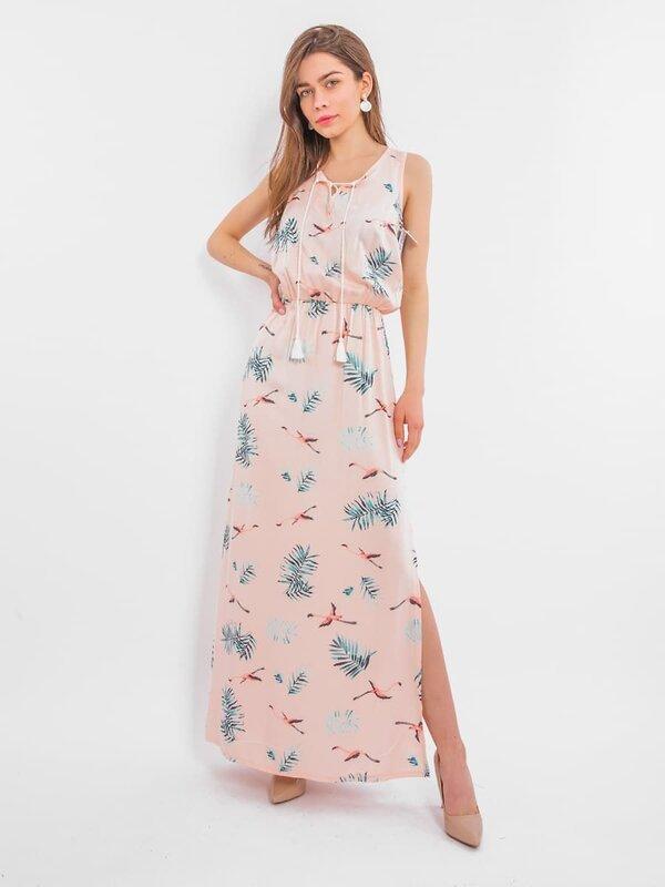 MARK FORMELLE Платье 147106 152288 птицы на св.розовом оптом от Engros
