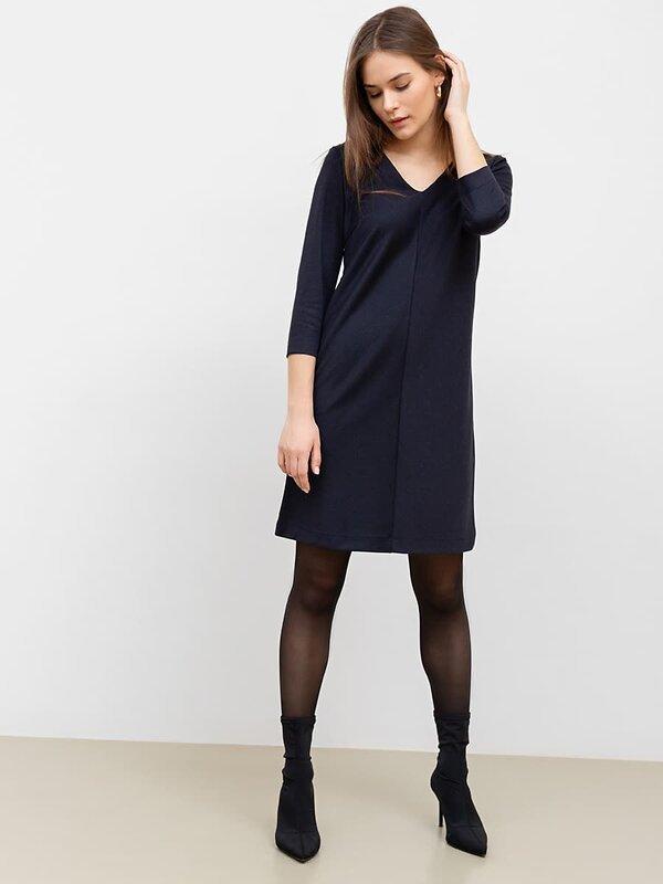 MARK FORMELLE Платье 147738 152369 синяя клеточка оптом от Engros