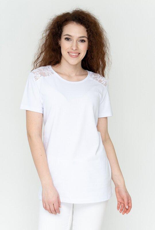 Binita Футболка 156062 355/1-1 белый оптом от Engros