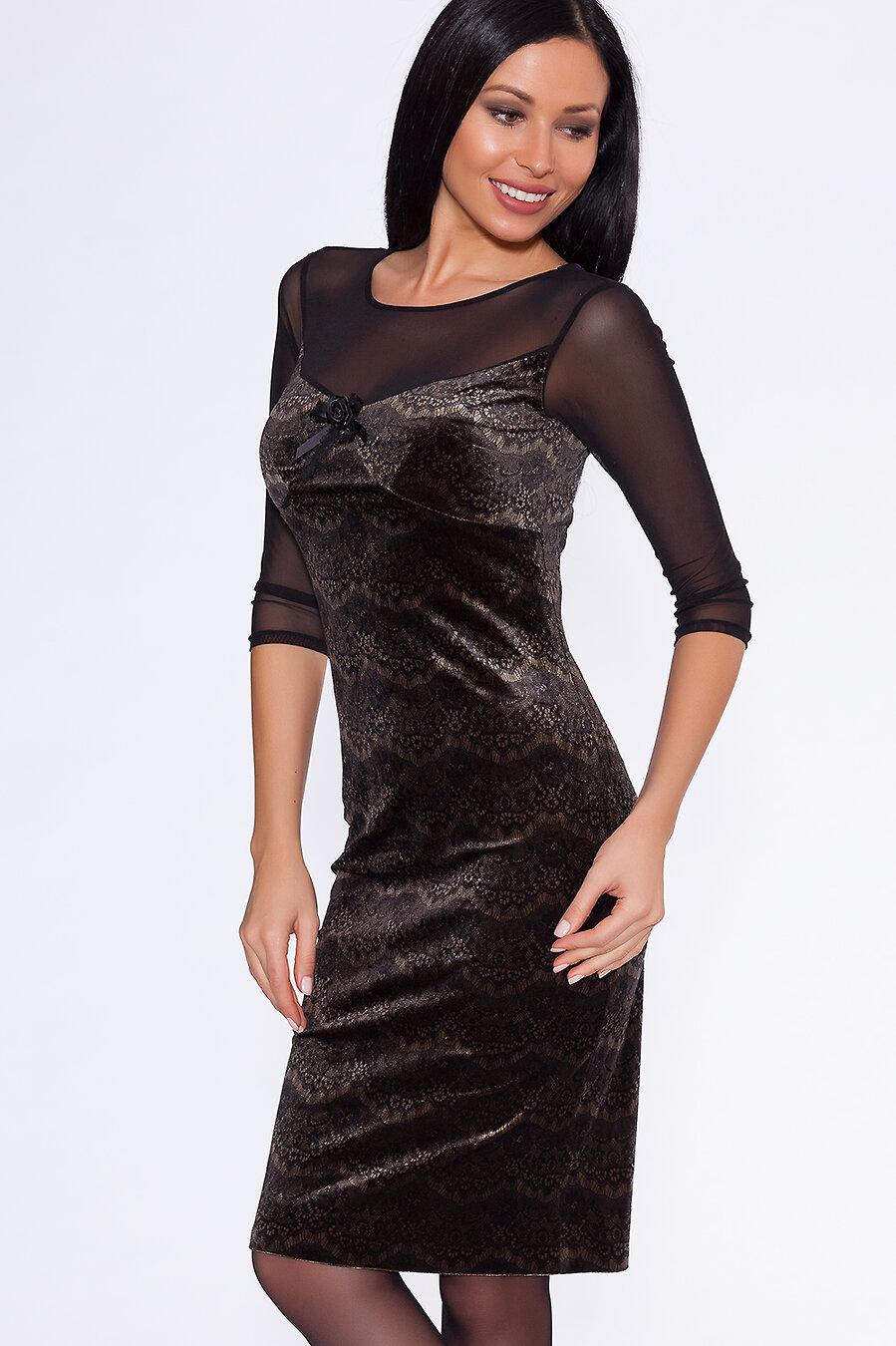 #5332 Платье (BRAVISSIMO) Оливковый