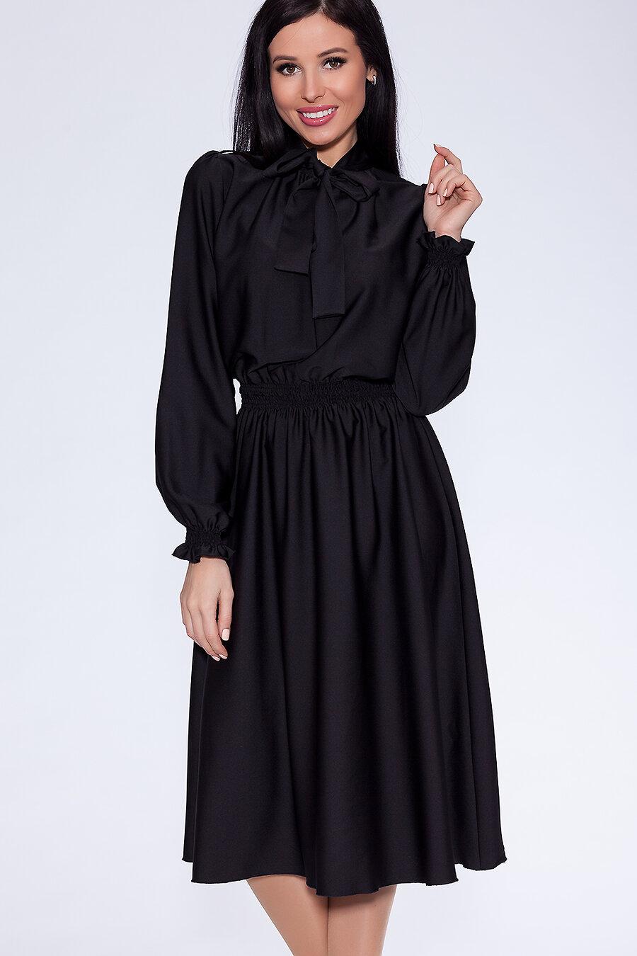 #12454 Платье Черный