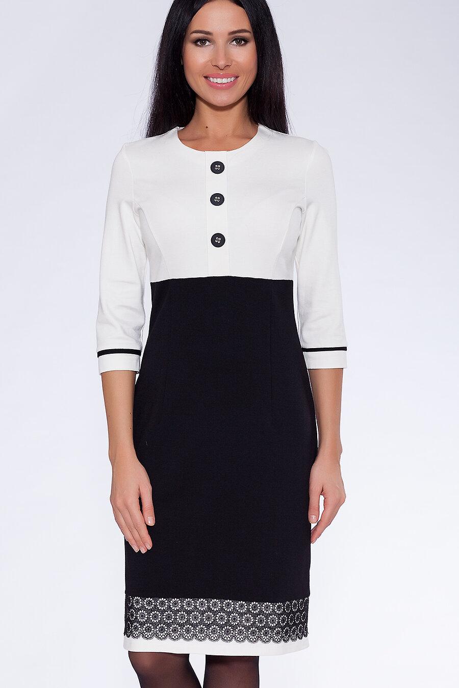 #19826 Платье Белый